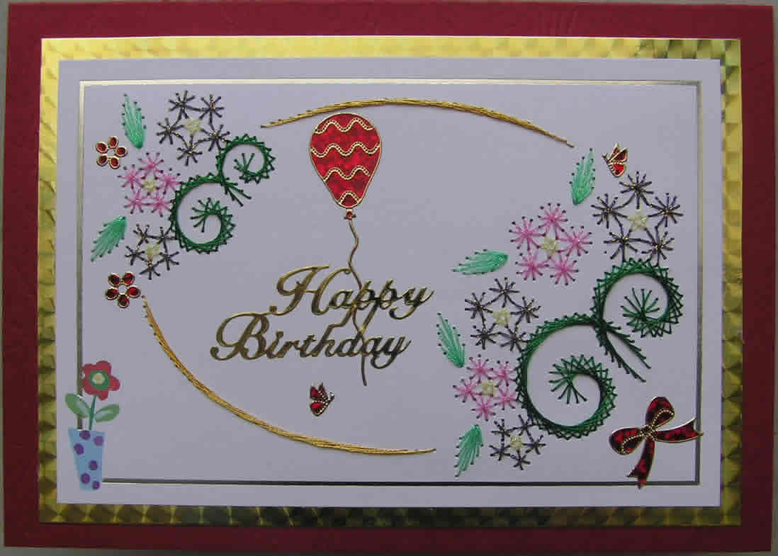 Simple Border Designs For Greeting Cards Zrom